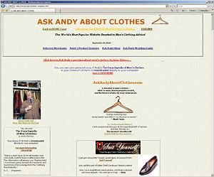moda w internecie, moda męska