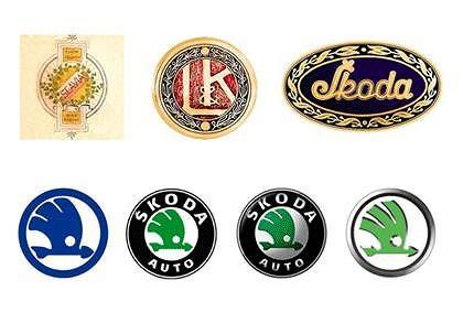 Logo �kody na przestrzeni lat