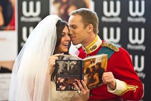 W Londnie odbył się ślub sobowtórów księcia Williama i Kate Midletone.