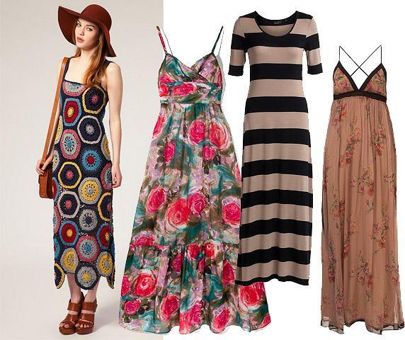 Modowy detektyw w poszukiwaniu długiej sukienki