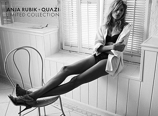 Zdjęcie numer 2 w galerii - Anja Rubik znowu reklamuje Quazi