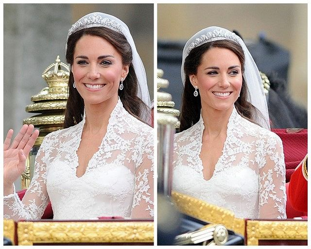 Ocena ślubnego Makijażu Kate Middleton