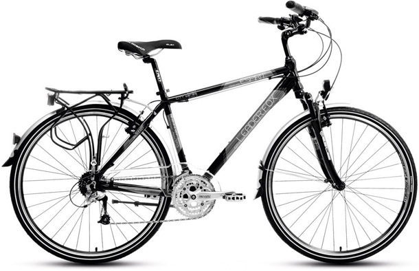 rowery, trekkingowy, LEADER