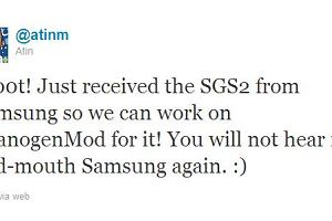 Samsung wspiera alternatywnego Androida