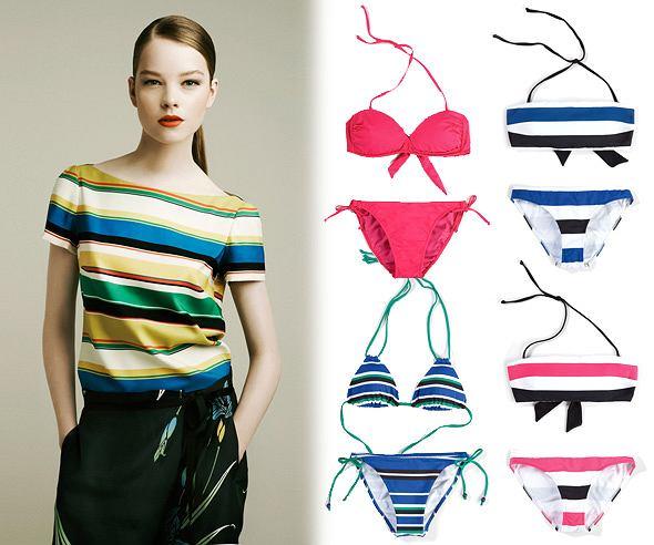 Kostiumy kąpielowe Zara - lato 2011