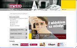 """EMETRO.PL/REKLAMA - nowy serwis z ofert� dziennika """"METRO"""""""