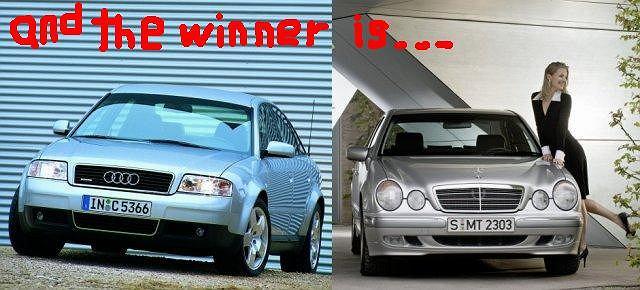 Audi A6 vs Mercedes klasy E