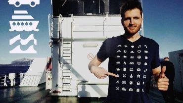 Koszulki IconSpeak pozwalają porozumieć się w wielu sytuacjach bez znajomości regionalnego języka