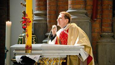 Ks. Jacek Międlar w białostockim kościele farnym