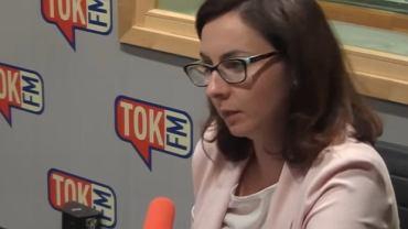 Posłanka Kamila Gasiuk-Pihowicz w 'Poranku Radia TOK FM'