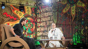 Festiwal Woodstock. Ojciec Paweł Gużyński na spotkaniu Akademii Sztuk Przepięknych