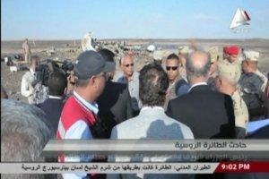 Rosyjski Airbus rozbił się w Egipcie. Nagranie z miejsca katastrofy