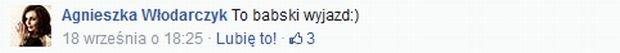 Facebook.com/AgnieszkaWlodarczykOfficial