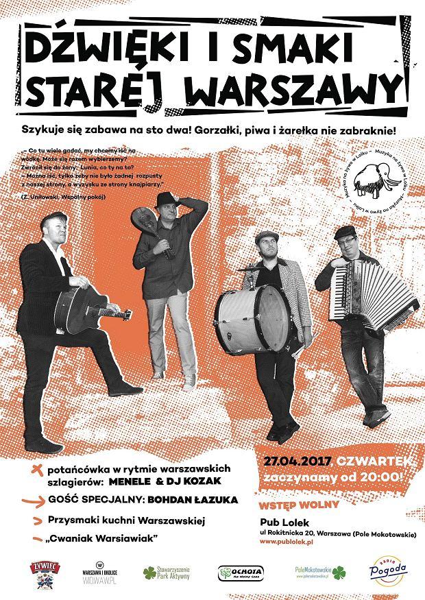 Dźwięki i Smaki Starej Warszawy 2017