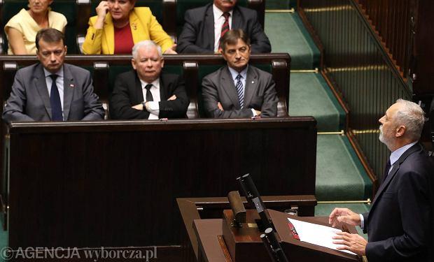 Rafa� Grupi�ski w Sejmie