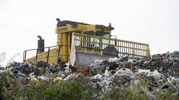 Wysypisko śmieci w Hryniewiczach