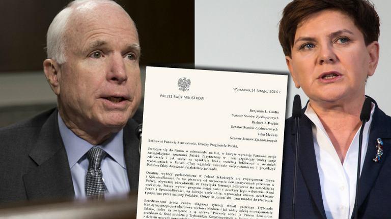 John McCain | Beata Szydło