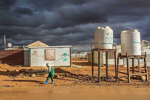 Za'atari - obóz uchodźców z Syrii w Jordanii