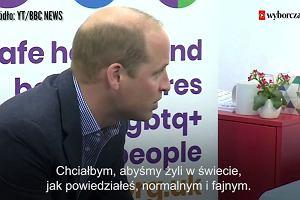 Książę William: Wspierałbym moje homoseksualne dziecko