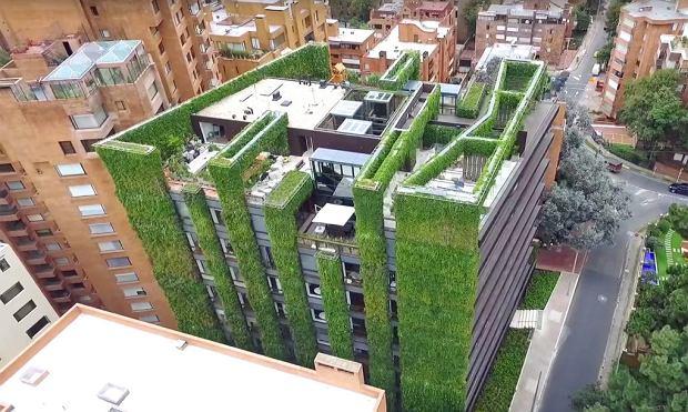 Budynek Santalaia w Kolumbii