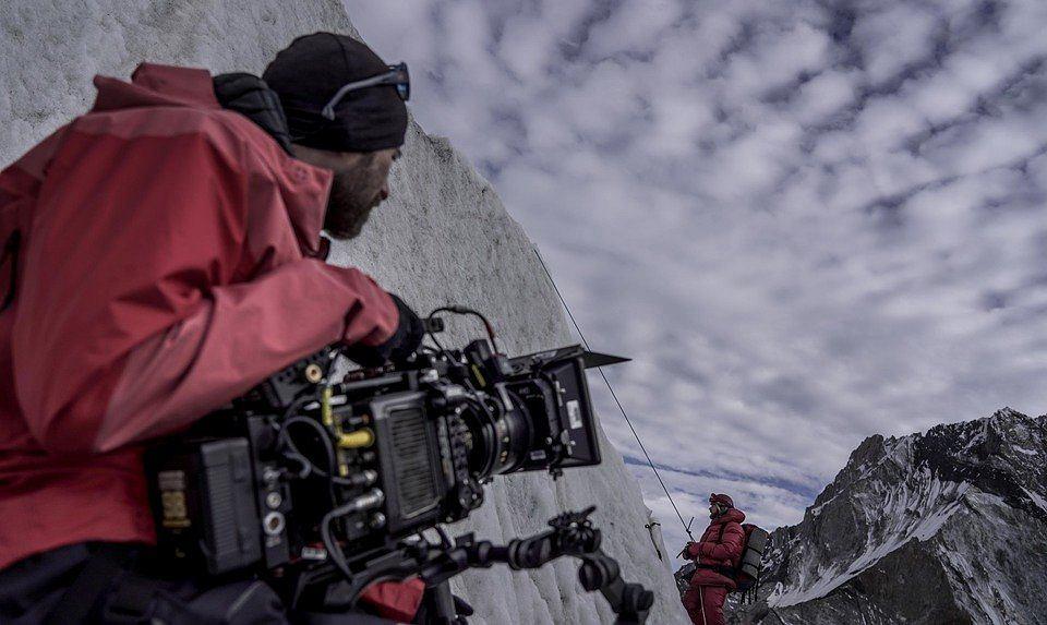 Na planie filmu 'Broad Peak' / Fot. Leszek Dawid