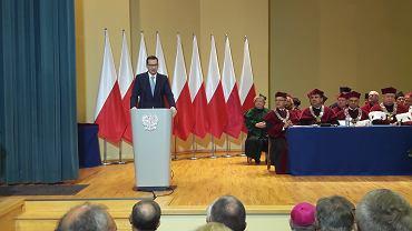 Mateusz Morawiecki na inauguracji roku akademickiego