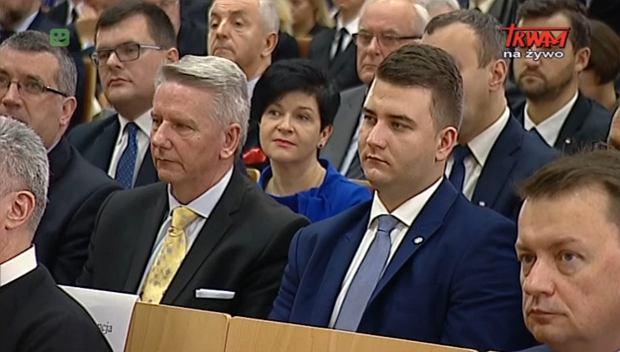 """Bartłomiej Misiewicz wraca na studia. """"Jeśli będzie miał czas na pracę, będzie ją kontynuował"""""""