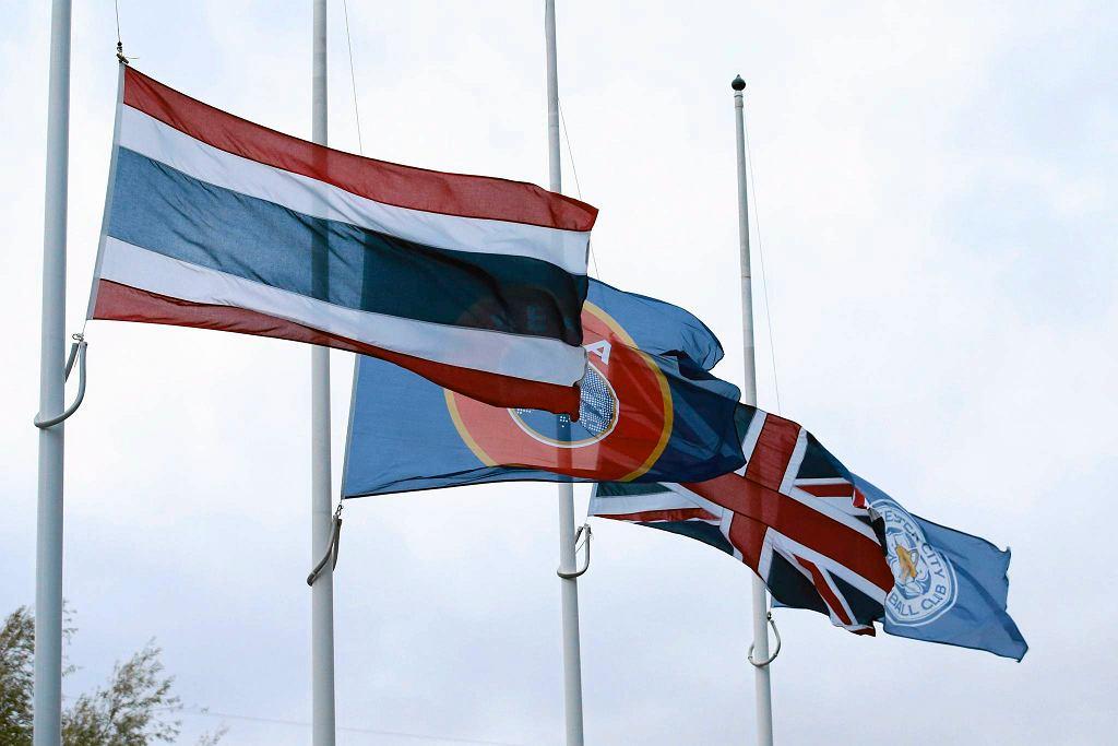 Minuta ciszy w Leicester po śmierci króla Tajlandii