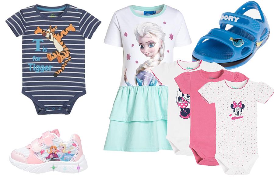Ubranka dla dzieci Disney na lato