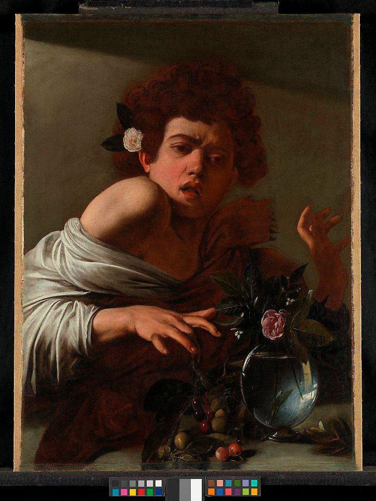 Wystawa 'Beyond Caravaggio', 'Chłopiec ugryziony przez jaszczurkę' / Wystawa 'Beyond Caravaggio', 'Chłopiec ugryziony przez jaszczurkę' /THE NATIONAL GALLERY PHOTOGRAPHIC DEPARTMENT