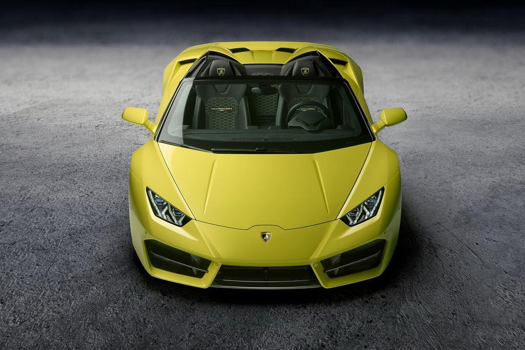 Lamborghini Huracan Spyder LP 580-2