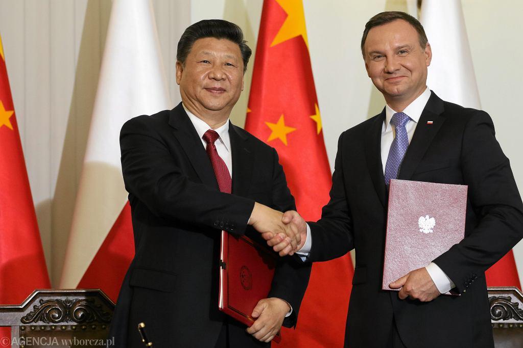 Wizyta Przewodniczącego Chińskiej Republiki Ludowej w Polsce