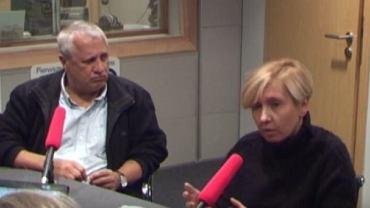 """Prof. Wiesław Władyka i dr Anna Materska-Sosnowska w """"Poranku Radia TOK FM"""""""