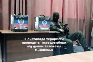"""Wybory separatyst�w na Ukrainie: """"Farsa pod lufami karabin�w"""". Euromajdan ujawnia, co si� dzia�o przy urnach?"""