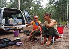 Śniadanie w buszu w Australii