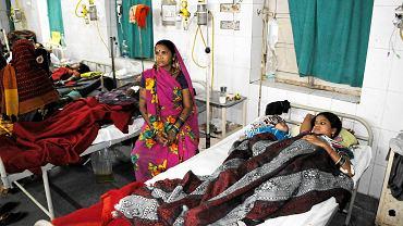 Hinduski, które zachorowały po źle wykonanym zabiegu sterylizacji