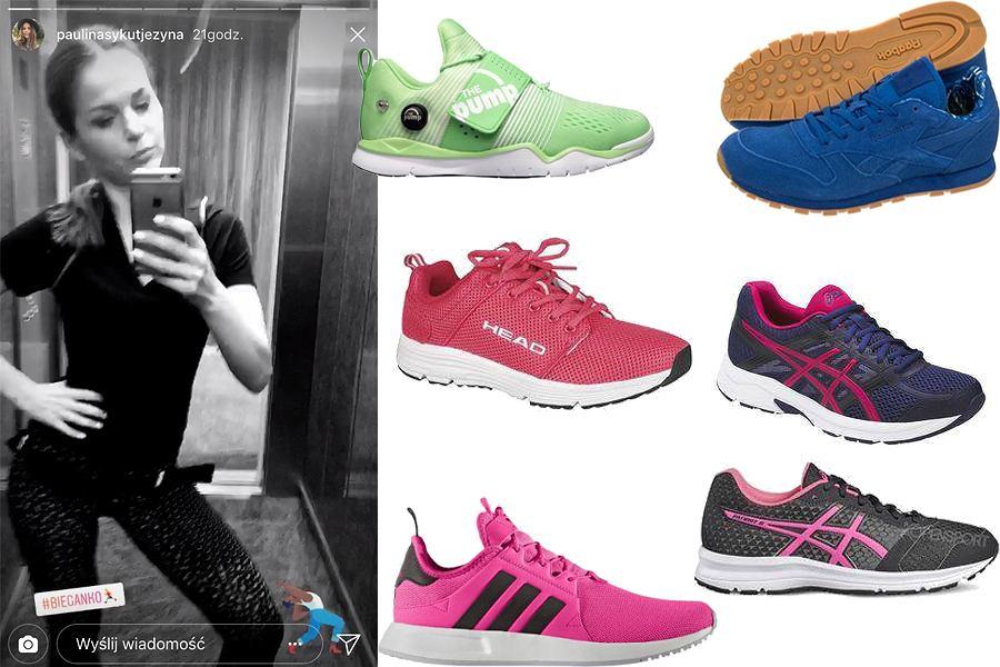 Kolaż, buty do biegania/Materiały partnera