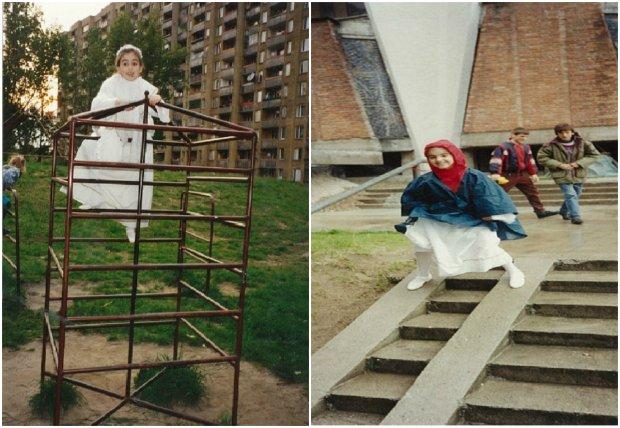 Natalia, komunia w 1995 roku