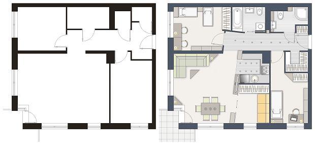 Jak Urzadzic Salon Prostokatny Budowa Projektowanie I