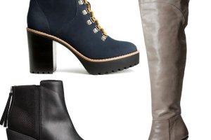 Buty z zimowej kolekcji H&M: nasze hity