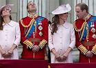 Ksi�na Kate i ksi��� William na paradzie z okazji urodzin kr�lowej. Jacy oni s� uroczy!