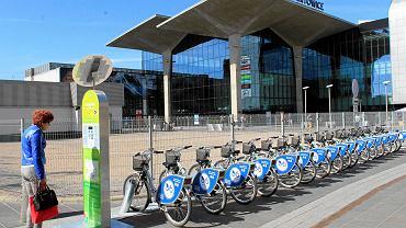 Katowice, wypożyczalnia rowerów miejskich