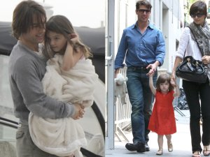 Tom Cruise z c�rk� Suri i z by�� �on�, Katie Holmes