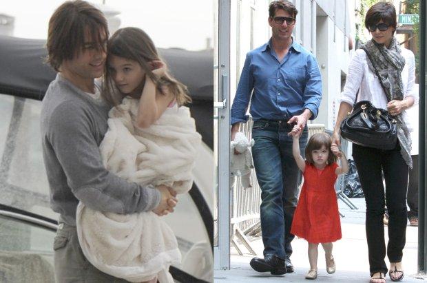 Tom Cruise z c�rk� Suri i z by�� �on�, Katie Holmes