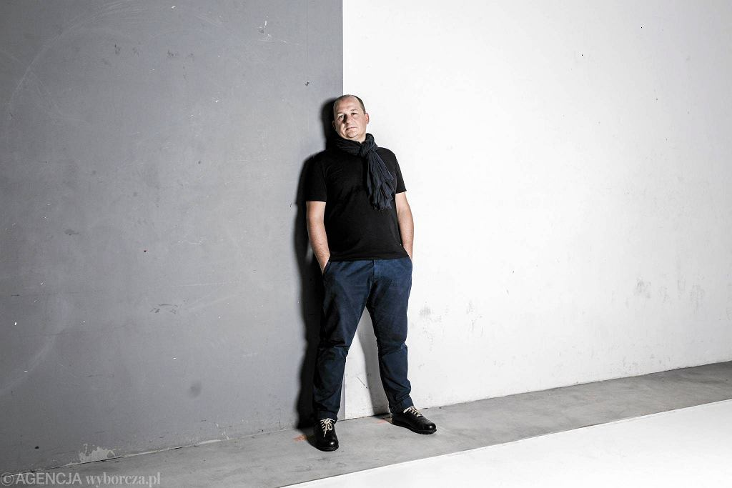 Tomasz Plata, kurator projektu 'Makroteatr' / Adam Stępień / Agencja Gazeta