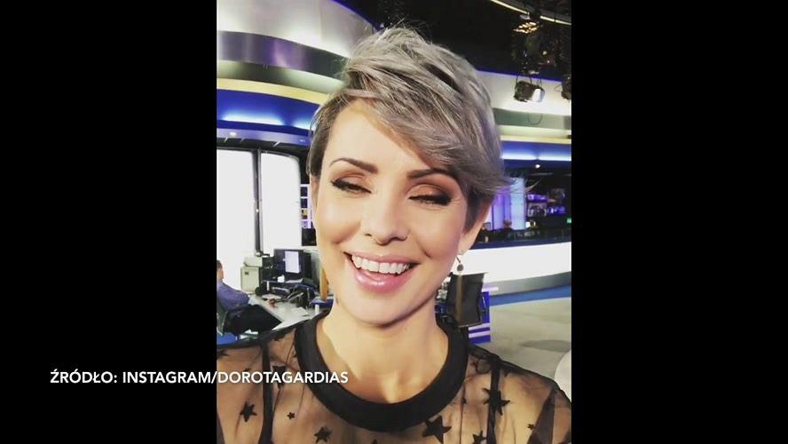 Dorota Gardias Już Tak Nie Wygląda Przefarbowała Włosy Na Kolor Siwy