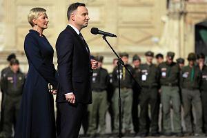 """Żona Andrzeja Dudy nie ma czasu dla byłych policjantek. """"Lepszy będzie minister Błaszczak"""""""