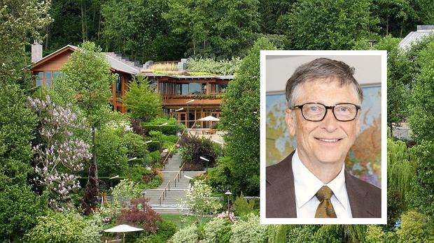 Zobaczcie jak mieszka najbogatszy człowiek świata - 10 faktów od domu Billa Gatesa