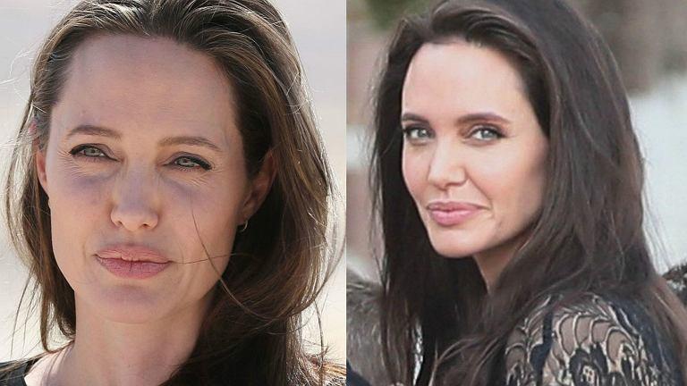 Angelina Jolie w 2016 roku i teraz