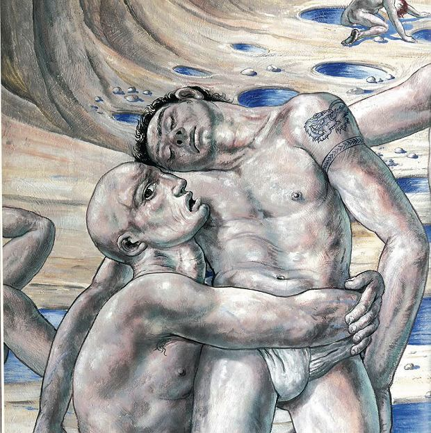 Prostytutki, trans- i homoseksuali�ci id� do nieba. Na w�oskim fresku. Czy trzeba go zamalowa�?
